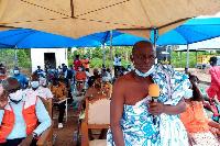 Nana Yaw Adjei-Duffour, the Kurontirehene of Bonte