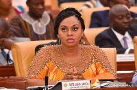 Sarah Adwoa Safo, MP  for Dome-Kwabenya