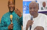 Aspiring Presidential candidates of the NDC, Ekwow Spio-Garbrah and Joshua Alabi