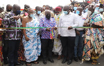 First Phase: Akufo-Addo opens Obetsebi Lamptey interchange to traffic