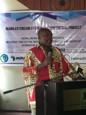Robert Patrick Ankobiah, Chief Director of the Ministry of Food and Agriculture