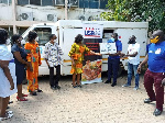 USAPEEC donates 50 cartons of poultry products to COVID-19 patients