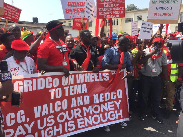 GRIDCo staff suspend sit-down strike but red flags stay up