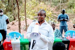 MP for Kpone-Katamanso Constituency, Joseph Akuerteh Tettey