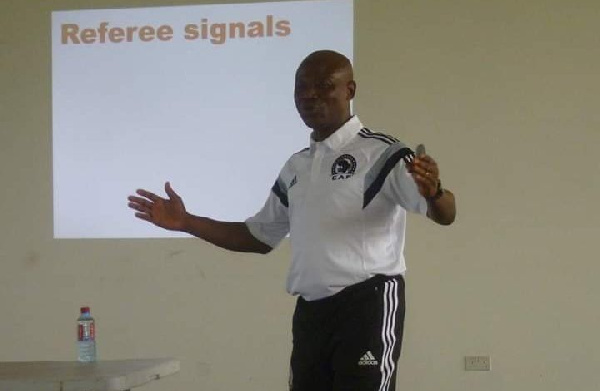 Referees Manager Alex Kotey lays down plans for referees