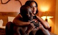 Damilola Adegbite with Chris Attoh