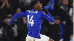 Leicester's Nigerian striker Kelechi Iheanacho