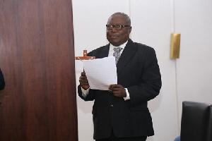 Special Prosecutor Amidu Martin Se