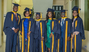 The six students graduated in Doctor of Medicine