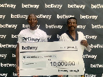 Betway has made a GHS10,000 donation to GTF