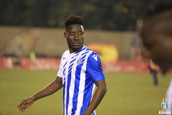Winful Cobbinah loses bet after drawing blank in Tirana derby