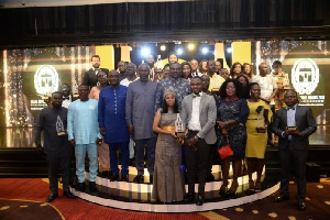 Group photograph of award winners