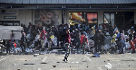 Looting of retail centers broke out in several areas of Johannesburg