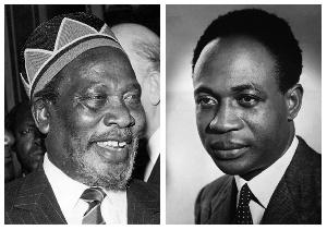 Jomo Kenyatta and Kwame Nkrumah
