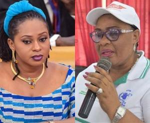 Gender Minister, Sarah Adwoa Safo and Gertrude Quashigah