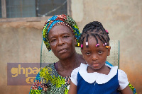 Madam Cecilia Sakia, the mother of Okomfo Kwaade and Victoria, Kwaade's daughter
