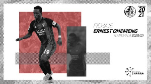 Ghanaian winger, Ernest Ohemeng