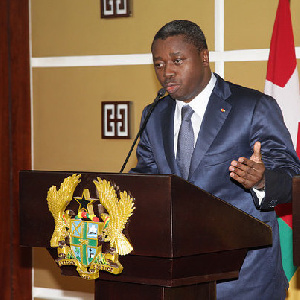 Faure Gnassingbe Togo