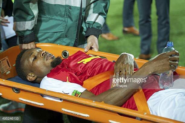Jerry Akaminko remembers injury that ruled him out of 2014 FIFA World Cup