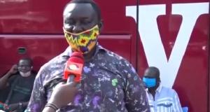 Manager of the Kumasi VIP bus station, Mr Ato Mensah