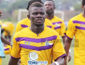 Medeama midfielder, Kwasi Donsu