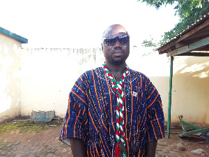 Benjamin Anafo is the CPP Parliamentary Candidate for Zebilla Constituency
