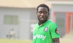 Aduana Stars midfielder Elvis Opoku