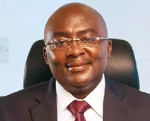 The Vice-President of Ghana, Mahamudu Bawumia