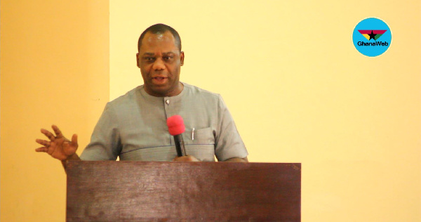 Minister of Education, Dr. Mathew Opoku Prempeh