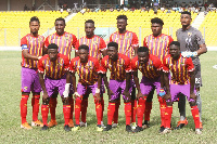Hearts of Oak, with a game in hand finished the first round in ninth place