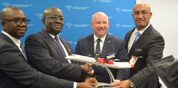 Ghana signs deal to buy aeroplanes for relaunch of international airline