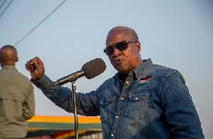 John Dramani Mahama Jeans