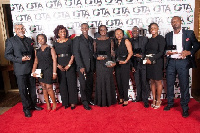 From left: Manu Rajan, Nana Adwoa Dwomoh Appiah, Hilary Arko-Dadzie, Donald Gwira etc