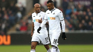 The Ghanaian brothers were both on the books of Swansea City in recent years