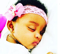 Baby Docilla sleeping peacefully