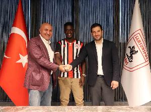 Ghana international Edwin Gyasi signs for Samsunspor