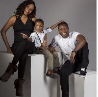 Kwadwo Asamoah and his family