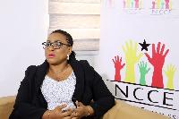 NCCE Chair, Josephine Nkrumah