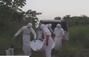 Ebola Cross Burials