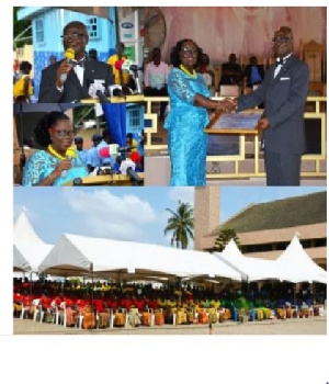 Mr. Avenorgbo was speaking at speech day of Accra Wesley Girls High School