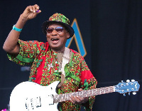 Legendary Ghanaian guitarist Ebo Taylor