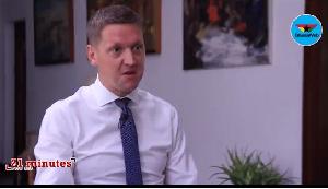 UK High Commissioner to Ghana Iain Walker