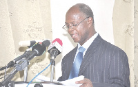 Director-General of the Ghana Health Service, Dr. Appiah-Denkyira