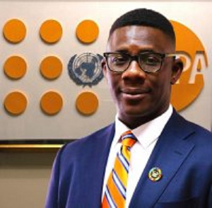 Mr Niyi Ojuolape is the Country Representative of the United Nations Population Fund (UNFPA)