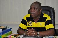 Kudjoe Fianoo, Chairman of the Ghana League Clubs Association