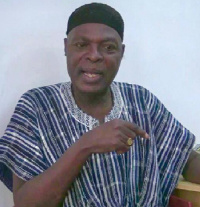 Veteran actor  Omansomfo Nana Yaw Kwakye