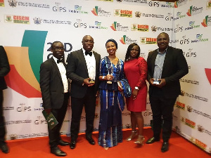 Executives of Vodafone Ghana