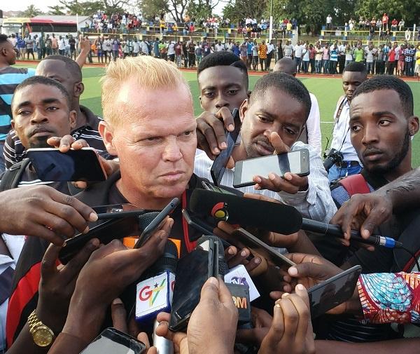 Kotoko set to sack coach Zachariassen after poor form in Africa