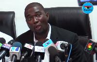 Executive Secretary of COPEC, Duncan Amoah