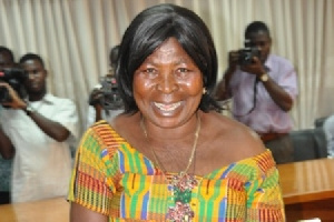 Akua Donkor is accusing four persons for allegedly robbing her at gunpoint